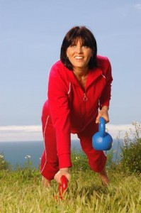 Working Out With Kettlebells In Pacific Palisades, California
